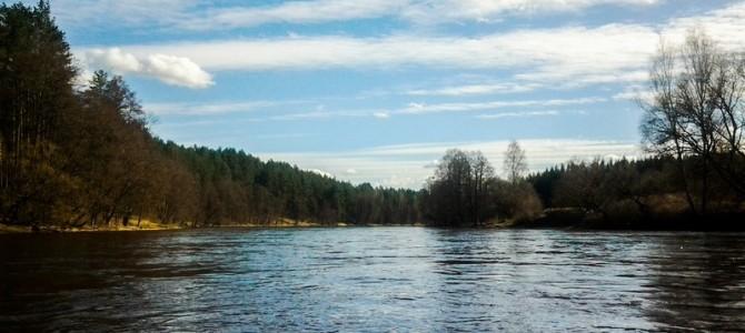 Baidarėmis nuo Aukštaitijos iki Baltijos jūros